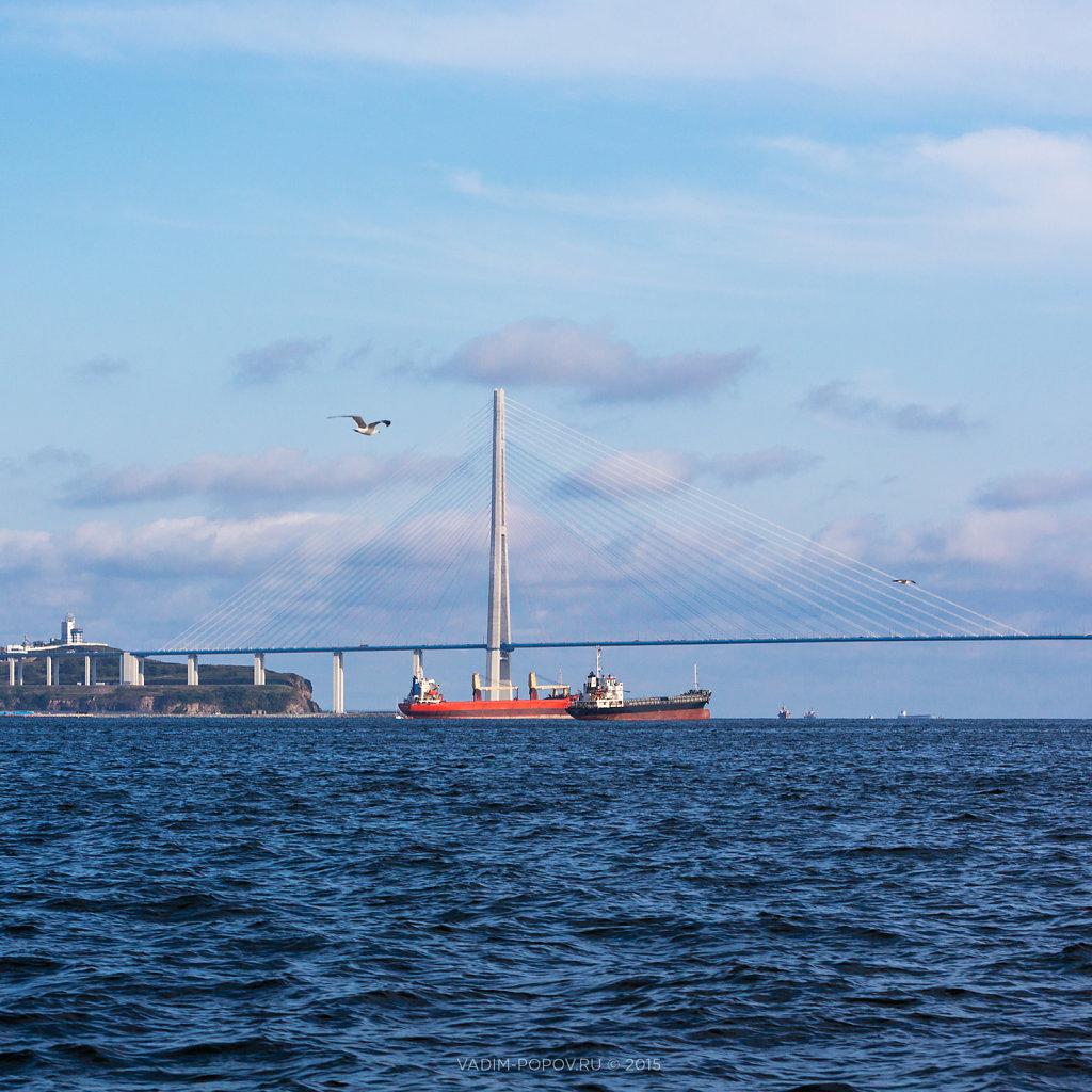 Морская экскурсия по бухте Золотой рог