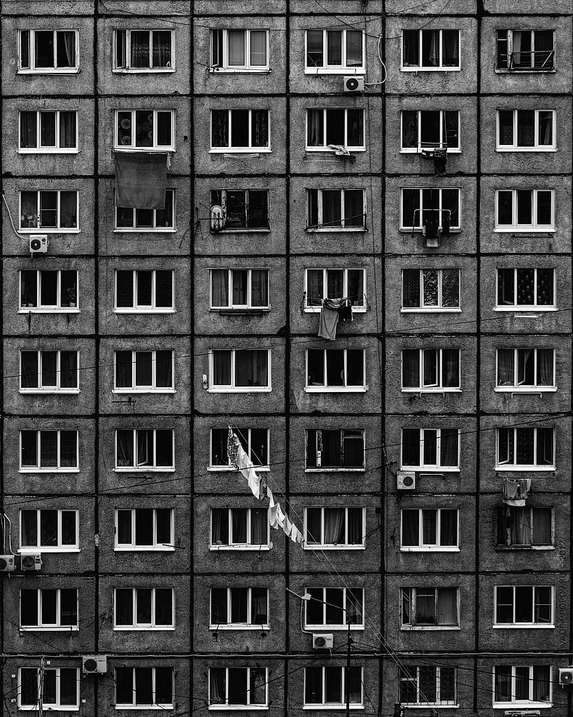 Черно-белый Владивосток