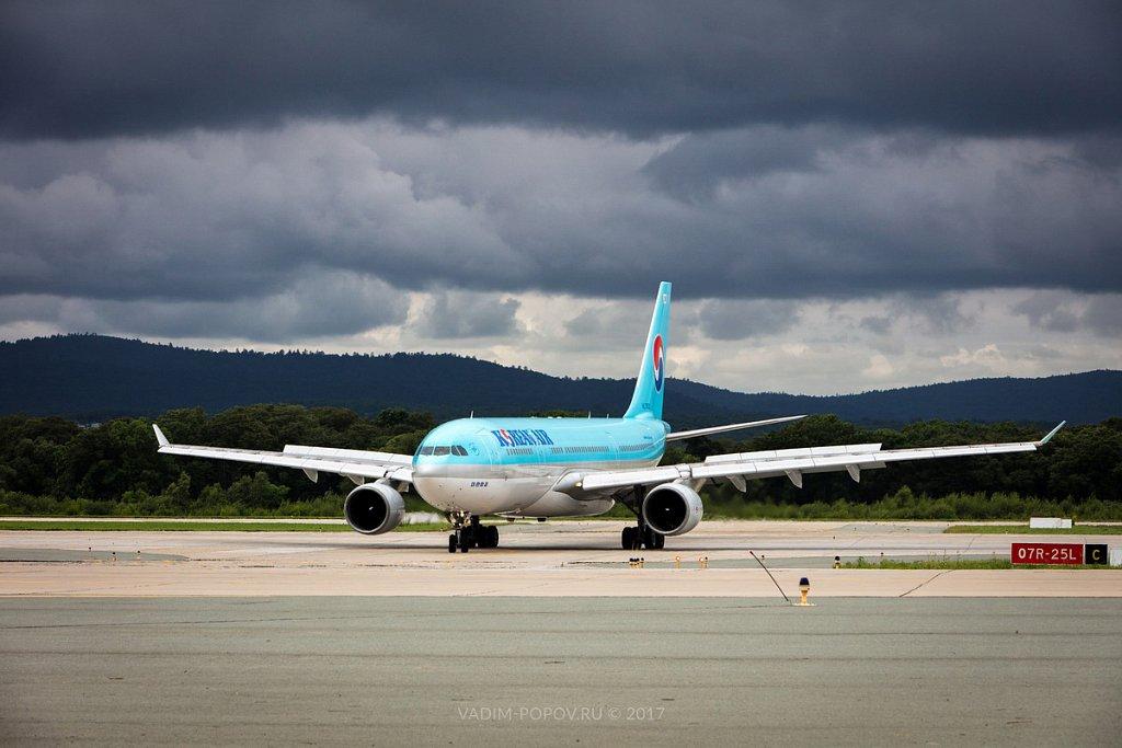 Авиаспоттинг в Международном аэропорту Владивостока