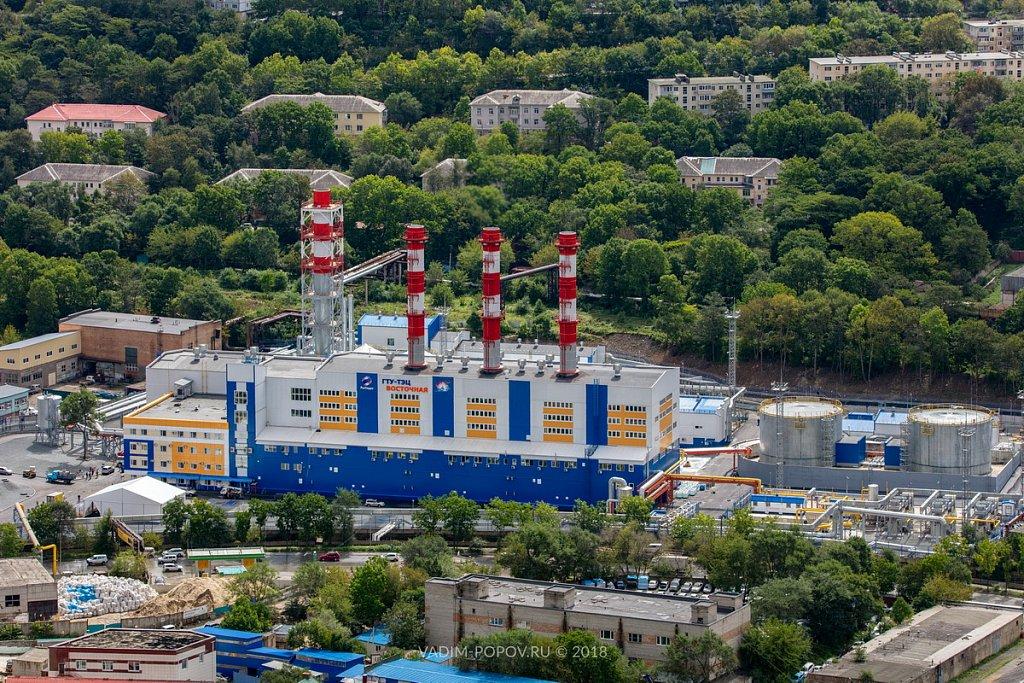 Открытие газовой ТЭЦ «Восточная» во Владивостоке